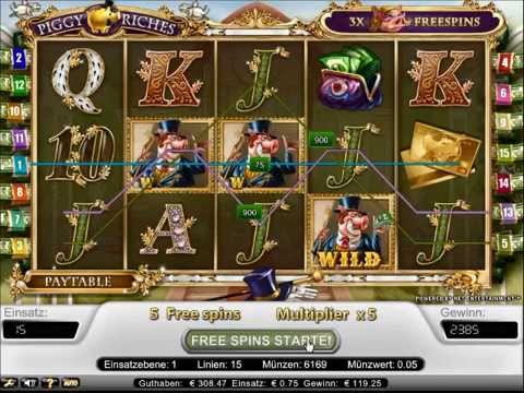 Piggy Riches Slot   Freespin Feature Big Win 227x Bet