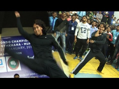 Tiger Shroff Showcases His Taekwondo Skills!