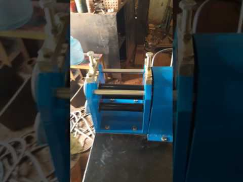 Ring bending machine used in gas stove