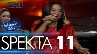 Video MARIA - DOMINO (Jessie J) - Spekta Show Top 5 - Indonesian Idol 2018 MP3, 3GP, MP4, WEBM, AVI, FLV Maret 2018