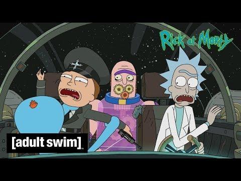 Rick & Morty 🇫🇷 | Bande-annonce saison 4 en exclu sur Adult Swim !