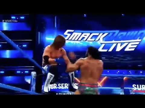 WWE Championship Jinder Mahal vs Aj Style Full Match HD. Smackdown Live 7 November 2017