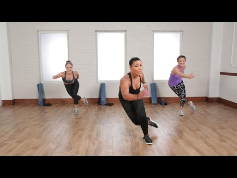 Burn 500 Calories in 45 Minutes With This Cardio and Sculpting Workout | Class FitSugar (видео)