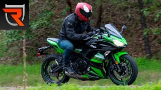9. 2017 Kawasaki Ninja 650 ABS First Test Review Video | Riders Domain