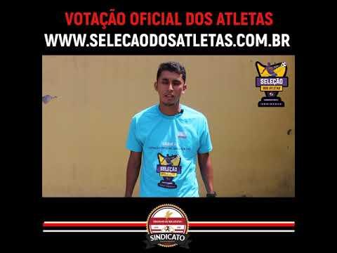 Votação Seleção dos Atletas Campeonato Paulista.