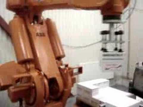 ABB Robot Palletizing Bags