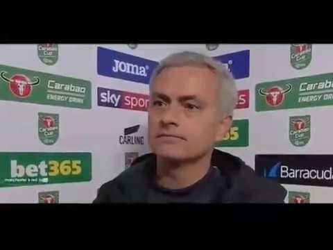 Jose Mourinho Post Match Interview Manchester United vs Swansea 2-0