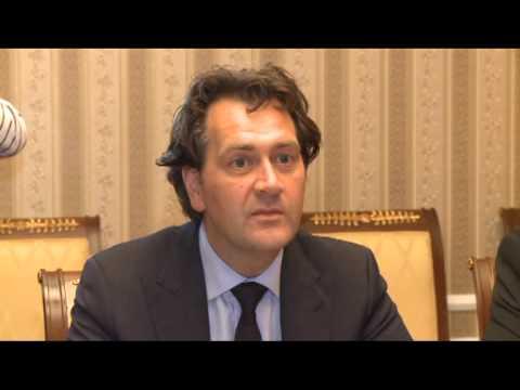 Николае Тимофти встретился с исполнительным директором Всемирного банка в Молдове Фрэнком Химскерком