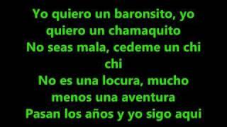 AventuraUn Chi Chi Lyrics