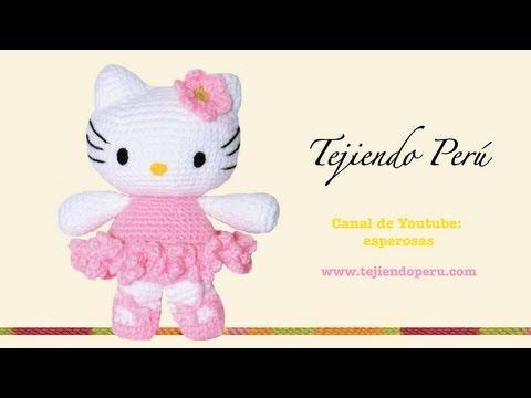 Hello Kitty Tejida A Crochet Amigurumi Parte 1 Cabeza/page ...