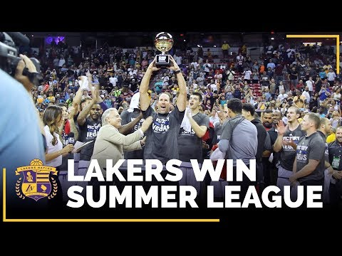 Video: Lakers Win It All...NBA Summer League Champions!