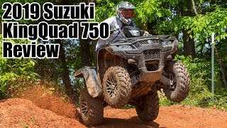 4. 2019 Suzuki KingQuad 750 AXi Review