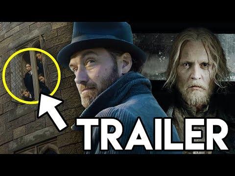Fantastic Beasts 2 The Crimes of Grindelwald Trailer BREAKDOWN - Grindelwald & Hogwarts