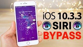 New Siri Lockscreen Bypass on iOS 10.3.3! Disable Cellular Data, Read Texts & More