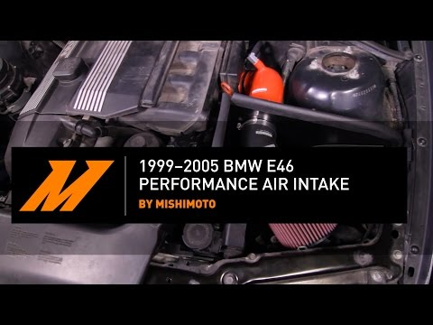 1999–2005 BMW E46 Performance Air Intake Installation Guide By Mishimoto