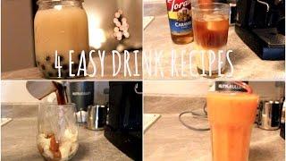 How To Make Milk Tea, Espresso Drinks + Smoothies