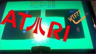 Secret One-Car Mode in  Sprint Master - Atari Fail!