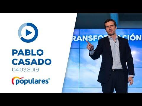 """Pablo Casado interviene en el acto """"Liderar la transformación digital"""""""