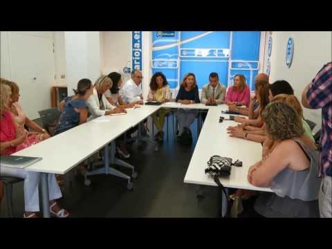 Martín y Escobar participan en un encuentro sobre el Pacto de Estado contra la violencia de género