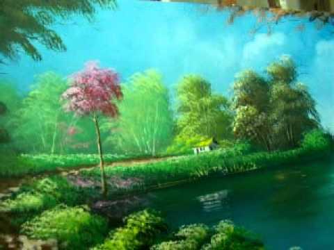 Vídeo Aula - pintura de paisagem001