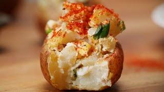 Loaded Baked Potato Salad Bites by Tasty