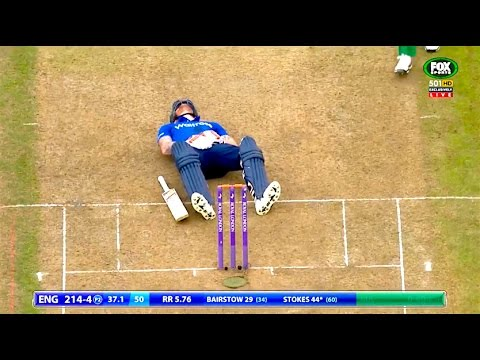 Ozzy Man Commentates on Cricket Groin Shots