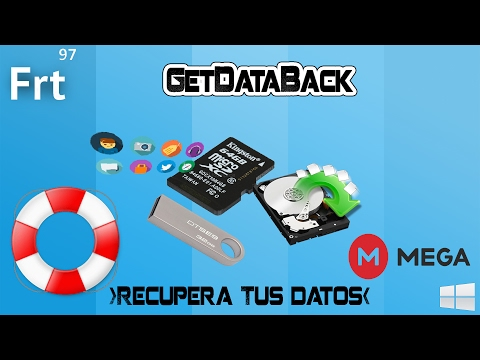 Como descargar Get Data Back Full Portable 2019 link en MEGA (Actualizado)