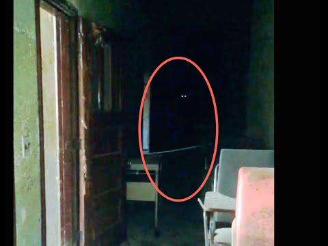vero fantasma ripreso in un ospedale psichiatrico abbandonato
