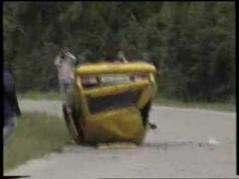 YUGO Rally crash