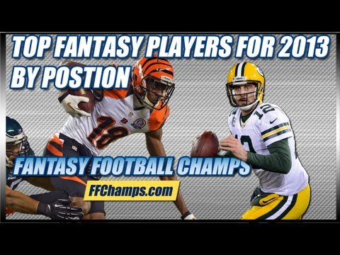 2013 Fantasy Football Rankings: Top 5 By Position | by FootballNation.com