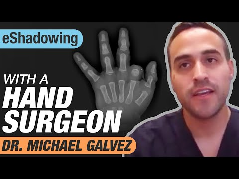 Online Shadowing With a Plastic Surgeon: Dr. Michael Galvez   eShadowing Ep. 1