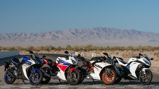 9. 2015 Beginner-ish Sportbike Shootout