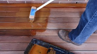 How to Coat a Deck with Sikkens Cetol BLX-Pro