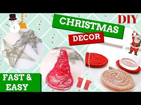 decorazioni natalizie all'uncinetto e non