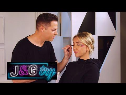 Jason Kennedy & Giuliana Rancic Try: A Makeup Tutorial | E! News