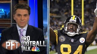 Peter King's take on Antonio Brown situation | Pro Football Talk | NBC Sports