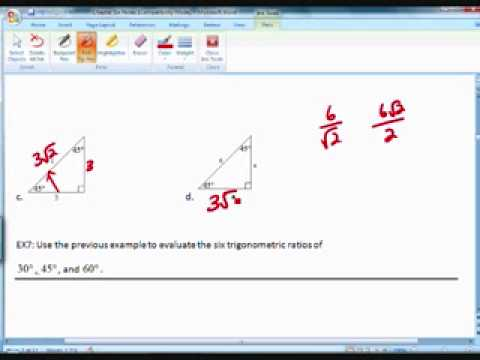 Precalculus Setion 6,1 Part 2