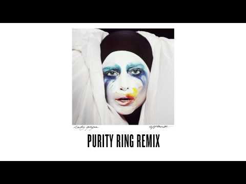 "Lady Gaga – ""Applause"" – Purity Ring Remix"