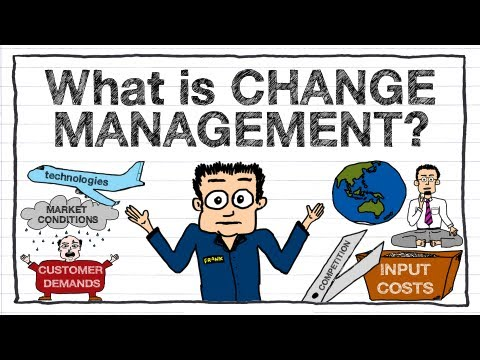 change - Get a free 'Simple Guide to Change Management' PDF at http://betterbusinesslearning.com/simplechangeguide An excellent introductory training video explaining...
