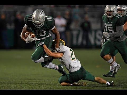 De La Salle Spartans vs San Ramon Valley Wolves - November 3, 2017 highlights only
