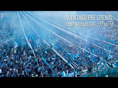 Alentaço - Treino pré Grenal - Geral do Grêmio - Grêmio - Brasil - América del Sur