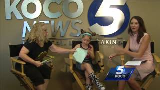 Molly Haskett's grandmother presented her with donations from the community for her efforts to advocate for shelter animals.SSubscribe to KOCO on YouTube now for more: http://bit.ly/1lGfjIlGet more Oklahoma City news: http://koco.com/Like us:http://facebook.com/koco5Follow us: http://twitter.com/koconewsGoogle+: https://plus.google.com/+KOCO/posts