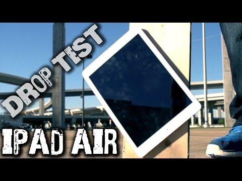 Apple iPad Air and iPad mini 2 with Retina Display drop and durability tests roundup