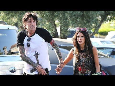EXCLUSIVE - Rock N Roll Superstar Tommy Lee Takes Out Girlfriend Brittney Furlan