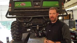 5. DIY Quiet Muffler Kit for John Deere Gator 625i ATV UTV side by side