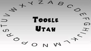Tooele (UT) United States  City pictures : How to Say or Pronounce USA Cities — Tooele, Utah