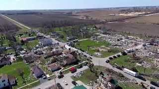 Rochelle (IL) United States  city images : 2015-04-09 Tornadoes (Ashton, Rochelle, Fairdale, IL USA)