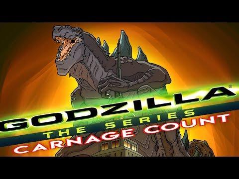 Godzilla: the Series | Season One (1998) Carnage Count