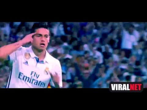 Espectacular James Rodriguez Goal - Real Madrid vs Barcelona 2-3 La Liga 23-04-2017 HD
