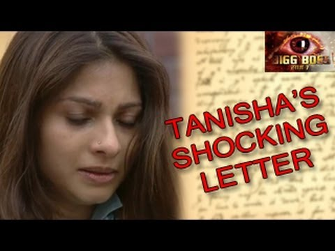 Bigg Boss 7 Tanisha's PRIVATE LETTER to Tanuja in Bigg Boss 7 9th December 2013 Day 85 FULL EPISODE - YouTube